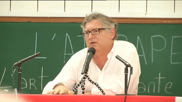Michel Onfray à Huelgoat / © France 3 Bretagne
