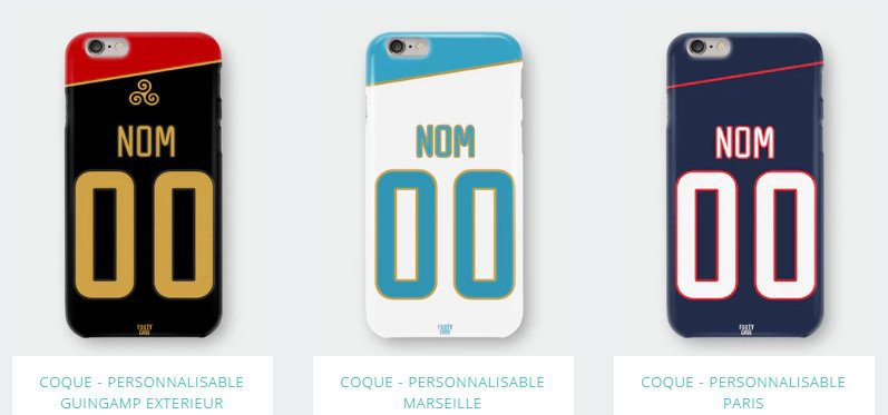 coque personnalisable iphone 6 foot