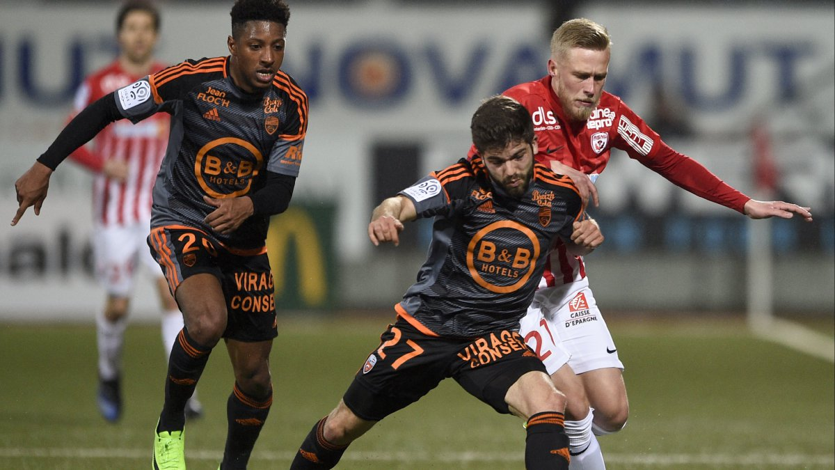Ligue 1 : un FC Lorient renversant s'impose contre Nancy (2-3)