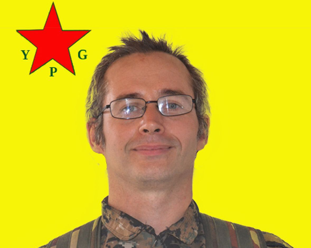 Olivier Le Clainche, alias Kendal Breizh / © AFP PHOTO / YPG PRESS OFFICE