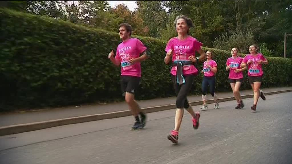 Brest: participation record pour Odysséa la course contre le cancer