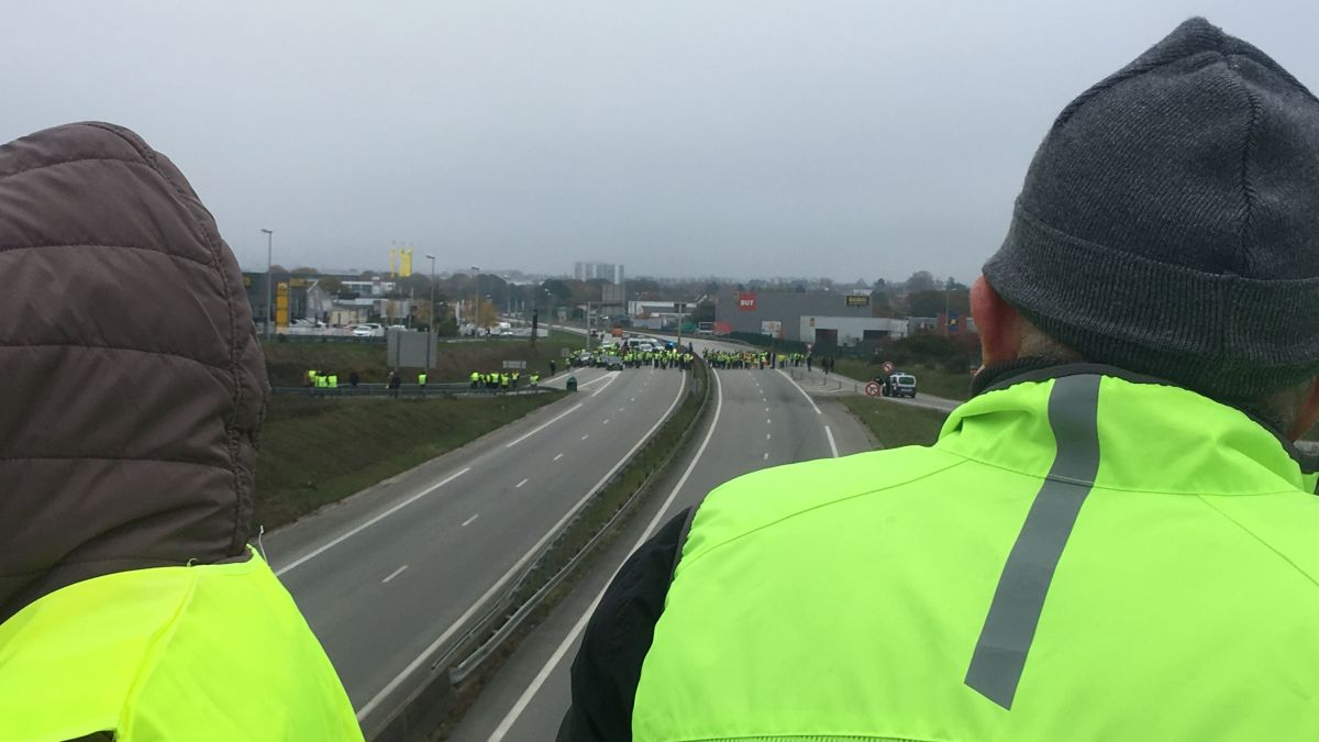 DIRECT Gilets jaunes: le point sur la situation dans le Morbihan