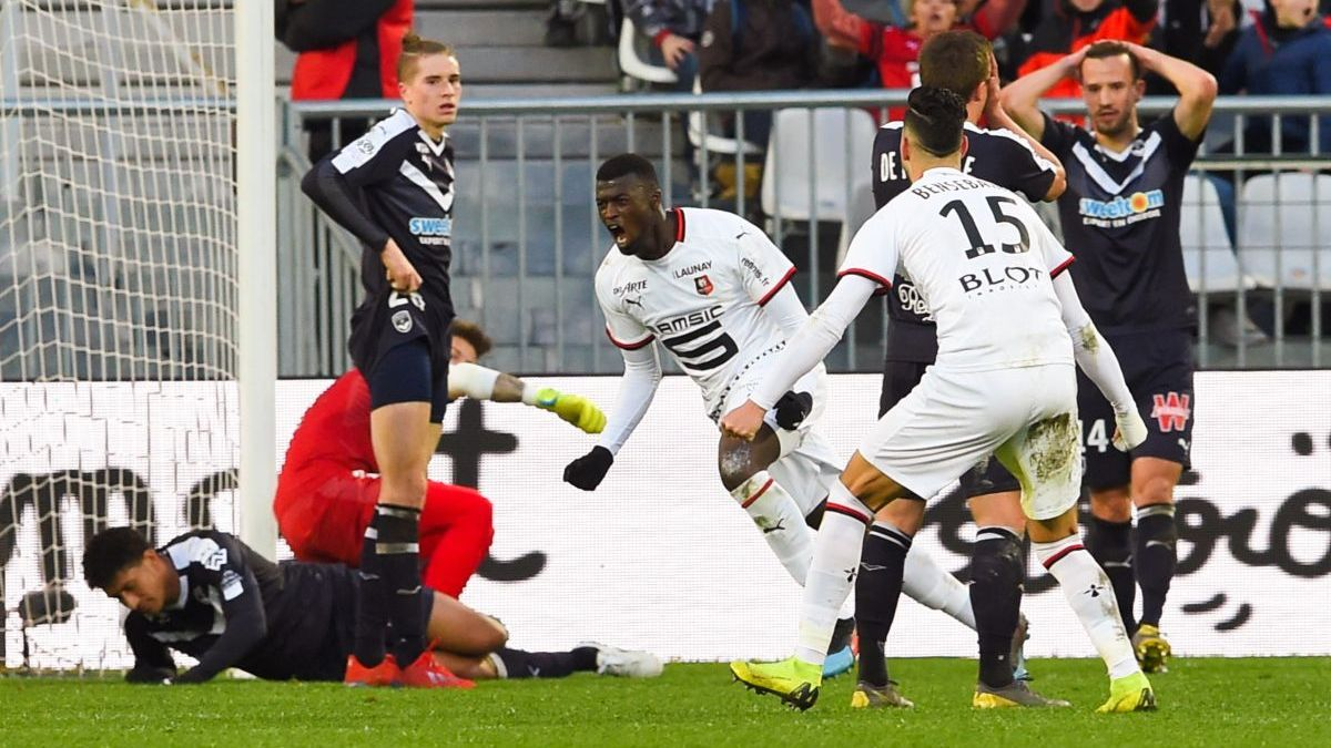 Ligue 1 : Rennes arrache le nul à Bordeaux (1-1) dans le temps additionnel