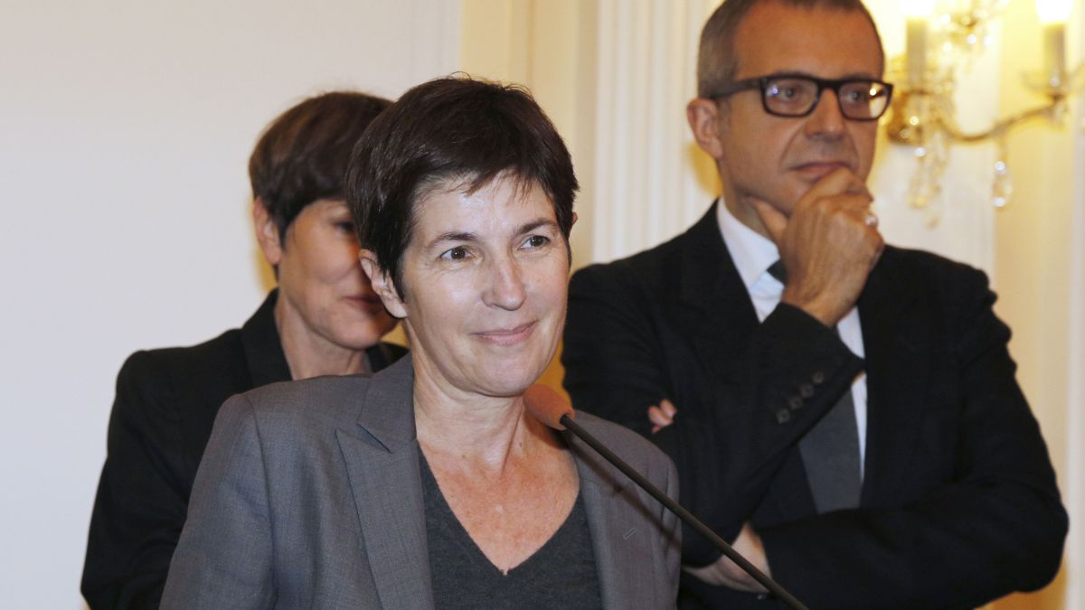 Christine Angot / © AFP