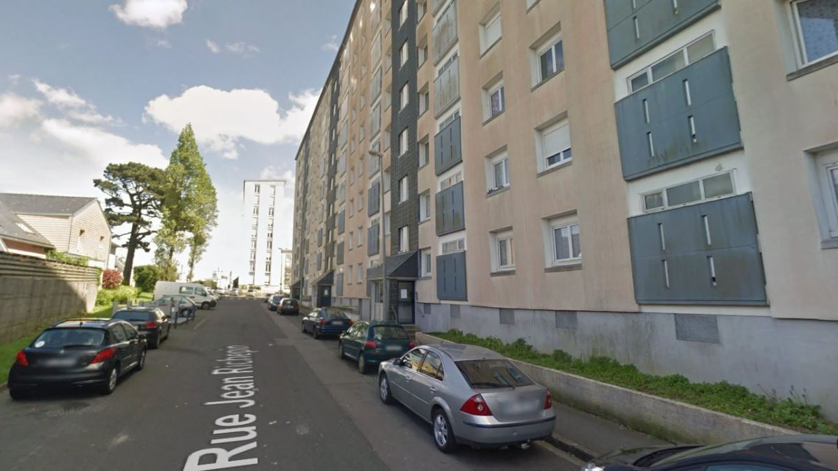 L'immeuble rue Jean Richepin à Brest / © Capture Google Street View