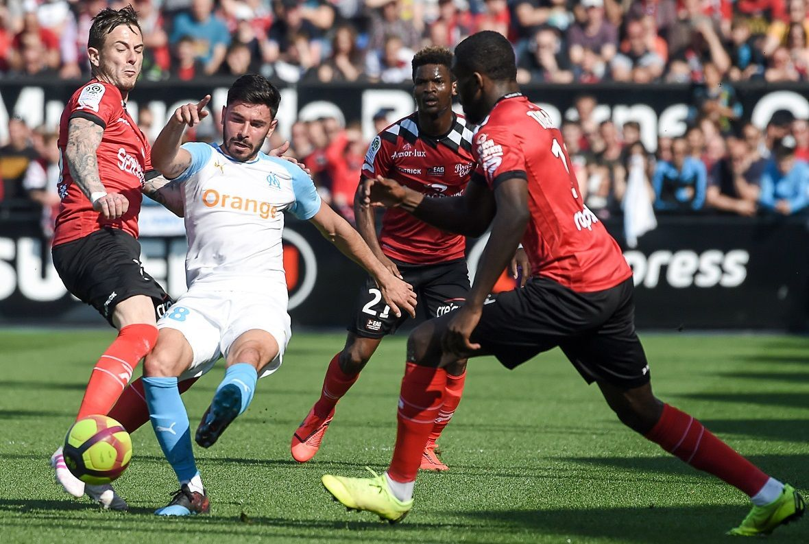 Ligue 1 : Guingamp battu par Marseille (1-3)