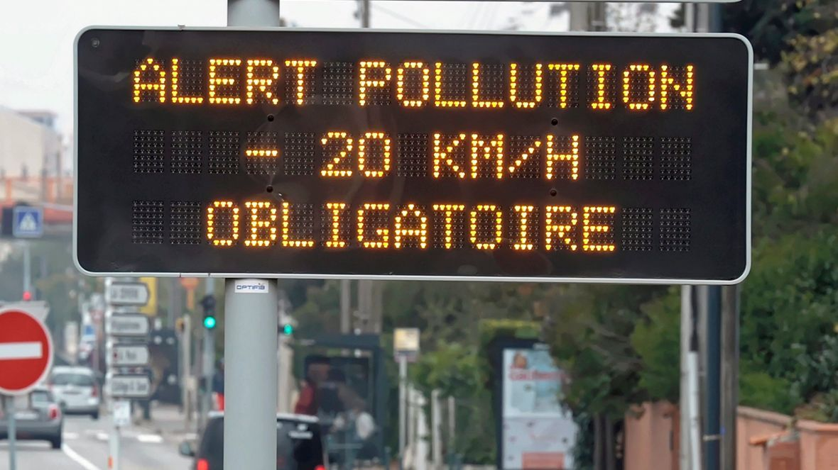 Pollution de l'air aux particules fines : l'alerte maintenue en Bretagne