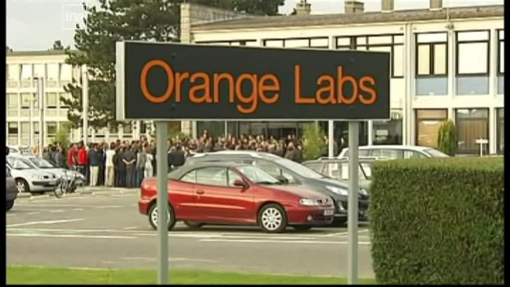 Le site de France Télécom à Lannion le jour du second suicide / © France 3 Bretagne
