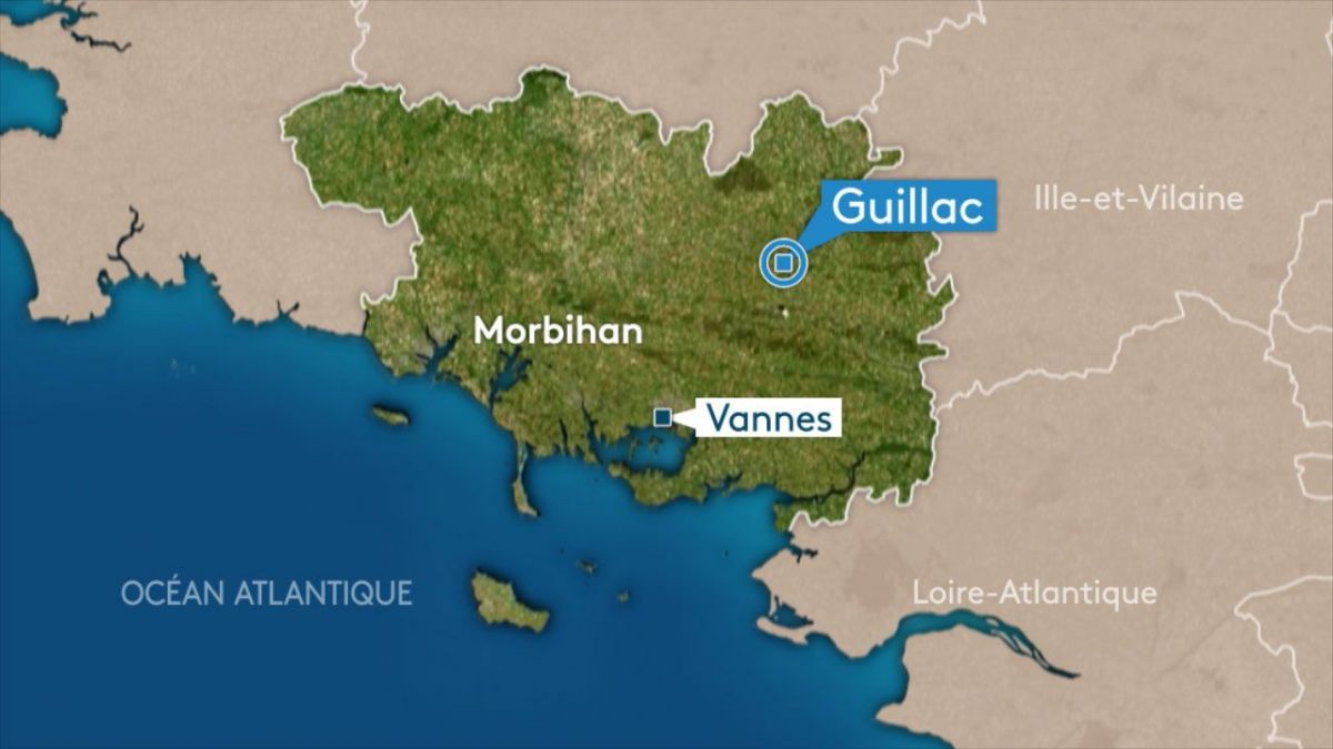 Guillac (56) : accident mortel sur la D122