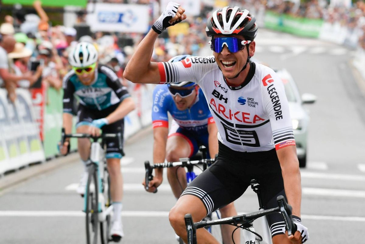 Le Breton Warren Barguil champion de France de cyclisme sur route