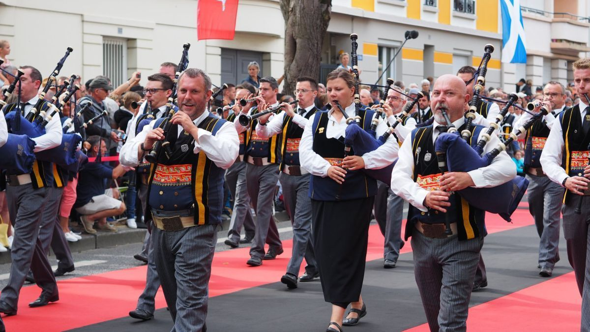 [REPLAY] Festival Interceltique : revivez la Grande Parade des nations celtes