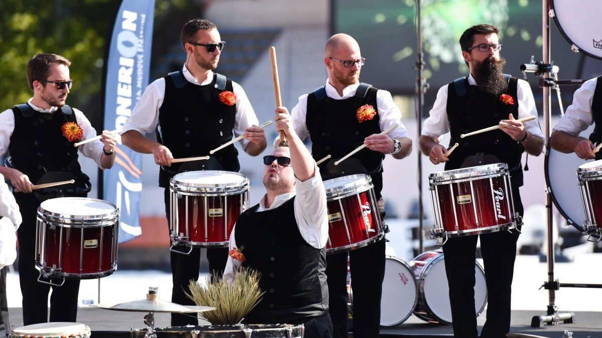 Un Finistérien, champion du monde de pipe-band à Glasgow