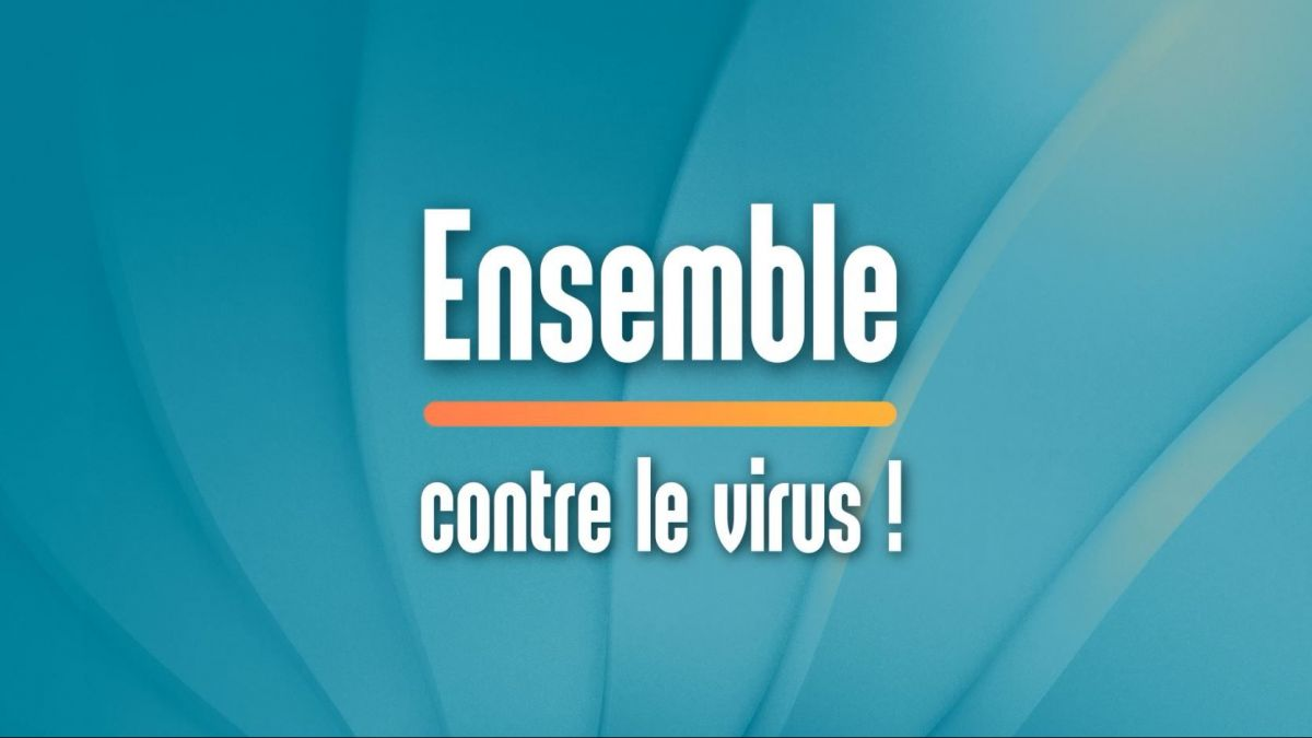 "VIDEO. Coronavirus : émission spéciale ""Ensemble contre le virus !"""