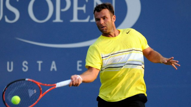 Marc Gicquel à l'US Open en 2011. / © PATRICK MCDERMOTT / GETTY IMAGES NORTH AMERICA / AFP