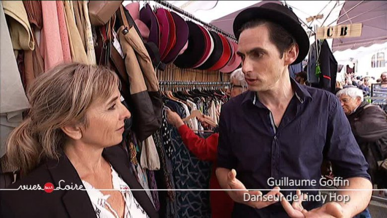 Guillaume Goffin, danseur de Lindy hop. Il a créé avec Aurélia Lépine une association de danses Swing basée à Tours « Swing and shout » / © France 3 Centre-Val de Loire