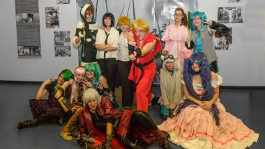 Les cosplayers de Fleury-les-Aubrais / © Les membres du CJF audio photo, association fleuryssoise.