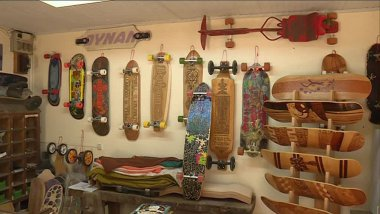Un sculpteurs de skateboards caché au fond du Berry  / © France 3 CVDL