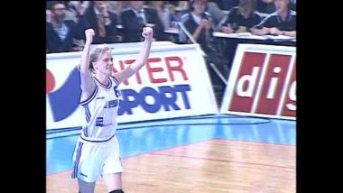 Finale d'Euroligue 1998 : Bourges s'impose contre Madrid / © P.Do Lepais, F3 Centre-Val de Loire