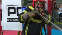 Tours : 1er challenge indoor de firefighter