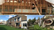 Montage Canva des maison éco-construction