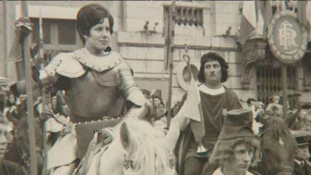 Marie-Christine Bordat-Chantegrelet, Jeanne d'Arc 1968 / © France 3 Centre-Val de Loire