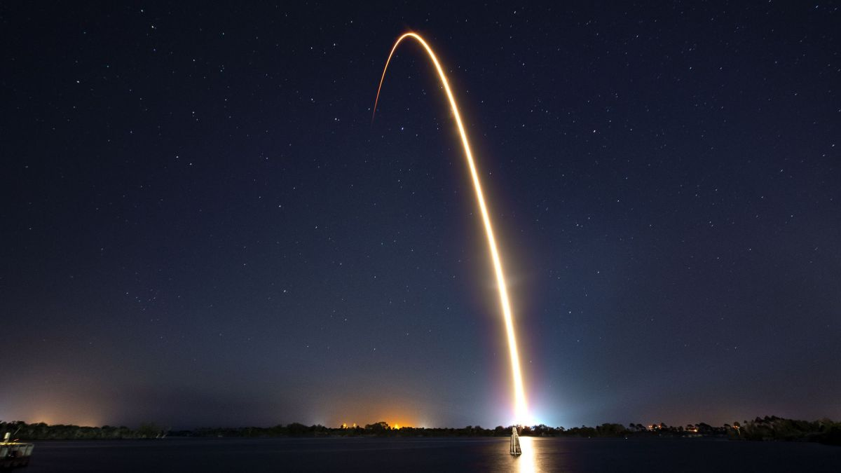 Le lancement d'un satellite, à Cap Canaveral, en février - Photo d'illustration / © HO / SPACEX / AFP