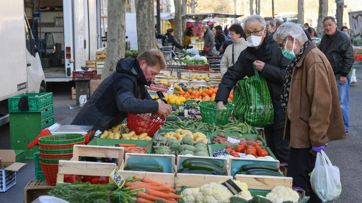 Un marché ouvert à Lyon - Photo d'illustration / © LE PROGRES/MAXPPP