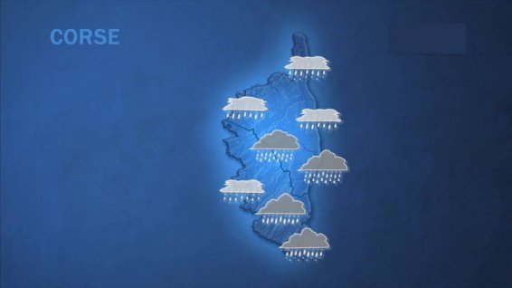 weather Monday 19 December 2016 © France 3 Corsica ViaStella