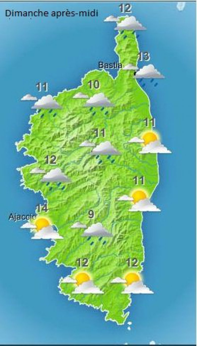 http://www.meteofrance.com/previsions-meteo-france/corse / ©