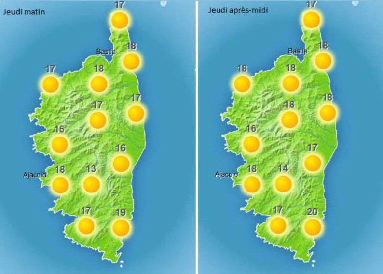 / © http://www.meteofrance.com/previsions-meteo-france/corse
