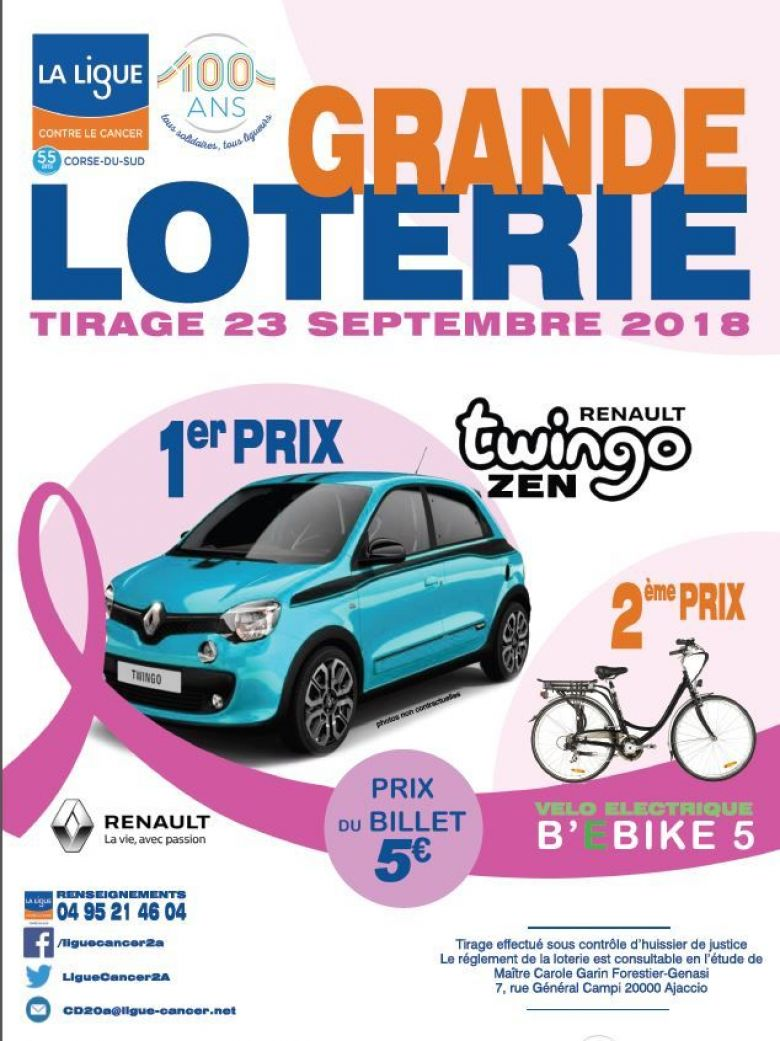 © Ligue contre le cancer de Corse-du-Sud