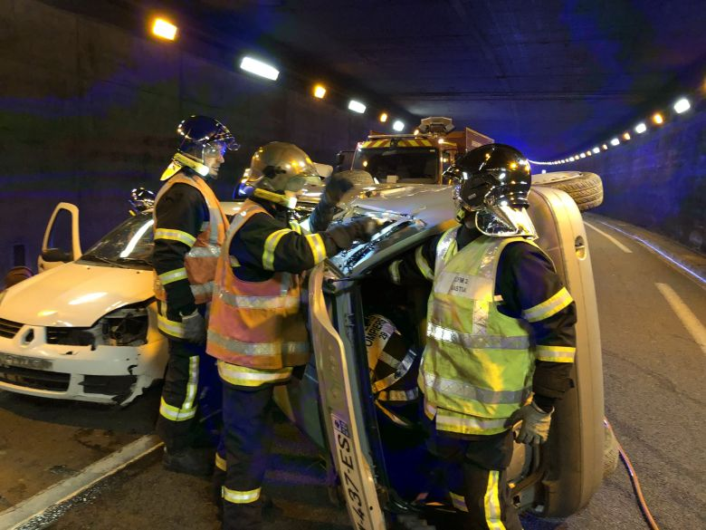 Illustration - Accident dans le tunnel de Bastia / © Christian Giugliano