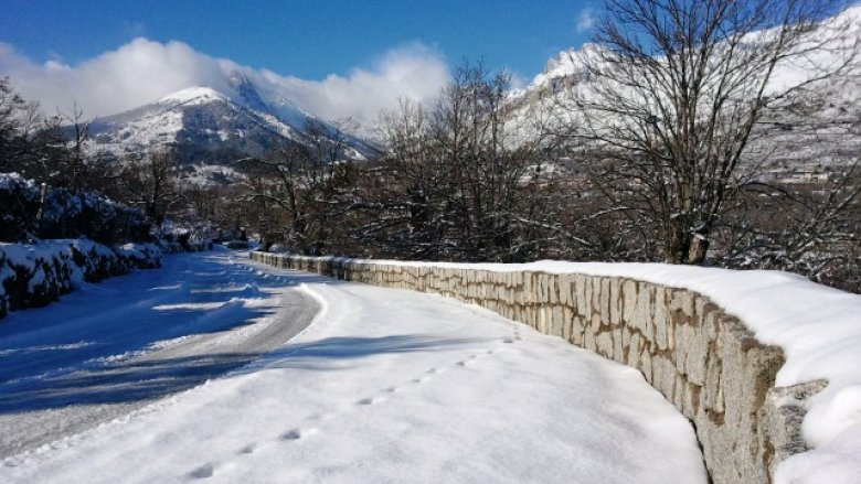Une route du Niolo ce mercredi / © Photo France 3 Corse