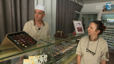 Un couple d'artisans de la plaine de Peri médaillé d'or au salon international du chocolat