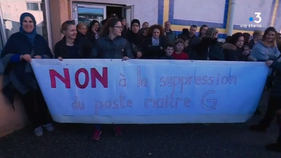 Plaine orientale: profs et parents d'élèves se mobilisent contre des suppressions de postes