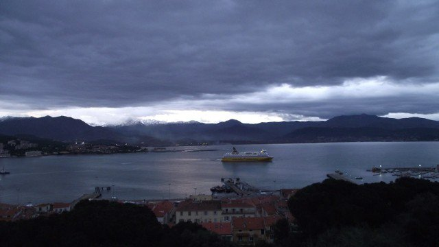 The gulf d'Ajaccio (Corse-du-Sud) under the clouds (Archive) © Gilles Hostin / Facebook