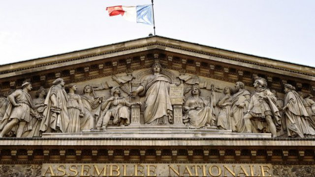 L'Assemblée Nationale. / © LOIC VENANCE / AFP