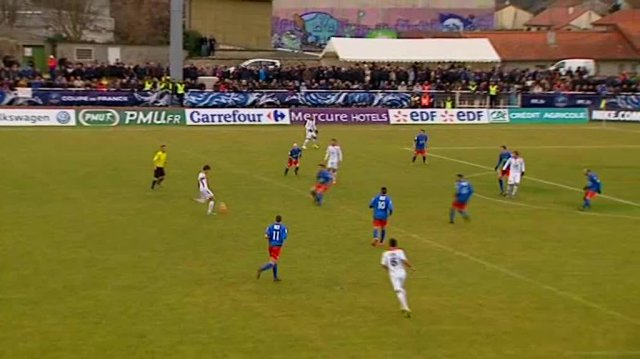 03/01/15 - Coupe de France : qualification de l'ACA face à Volvic 0-1 / © FTVIASTELLA