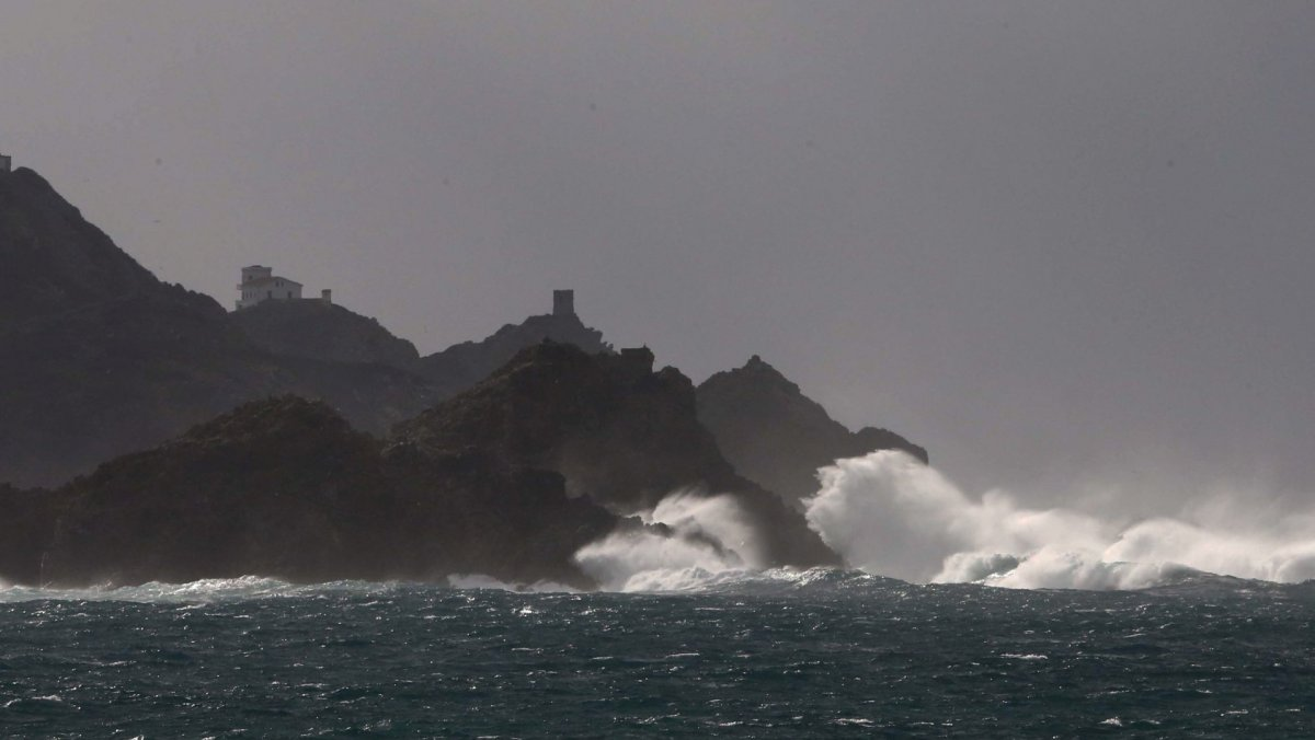Tempête Eleanor : la Corse placée en vigilance orange vent violent