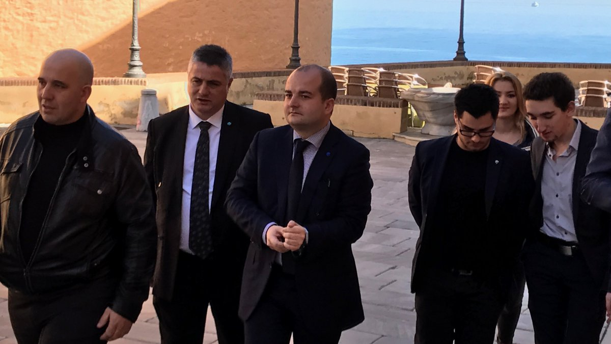 David Rachlin en visite en Corse pour le Front National