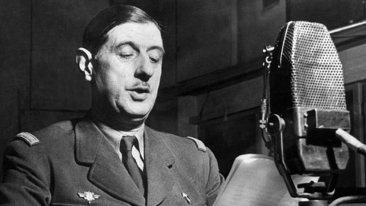18 juin 1940 – L'appel à la résistance du Général de Gaulle