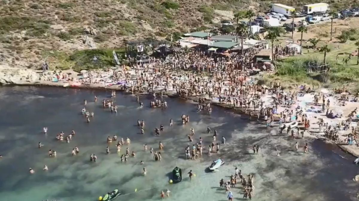 Capture d'écran vidéo promo de la Villa Schweppes, Calvi On The Rocks 2017