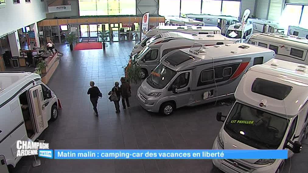 Champagne-Ardenne matin - Le boom des camping-cars