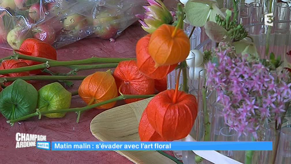 Champagne-Ardenne matin - L'art floral