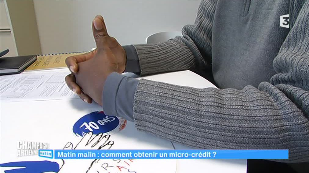 Champagne-Ardenne matin - Le micro-crédit