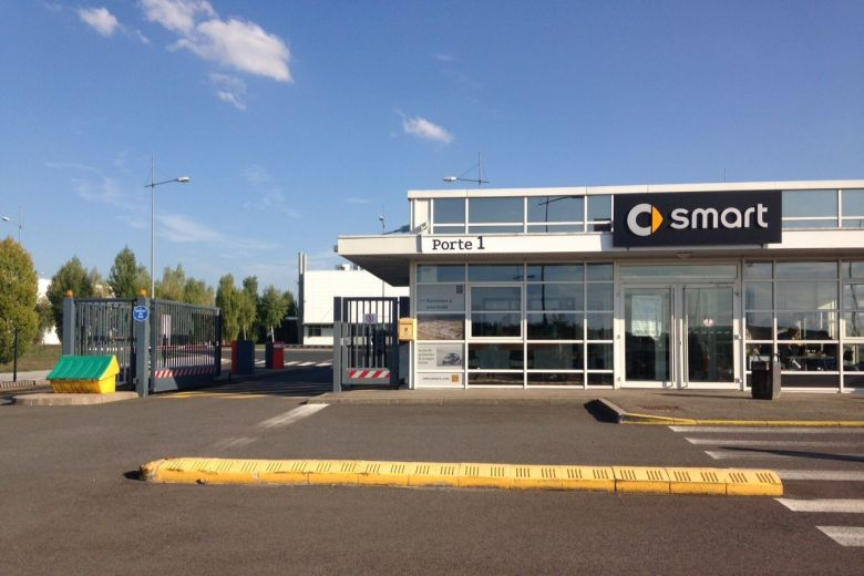 The Smart factory, main employer at the Hambach Europôle (800 employees) / © Florence Grandon. France 3 Lorraine