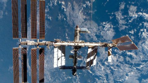 La station spatiale internationale ISS sera visible à l'œil nu ce lundi à 18h39