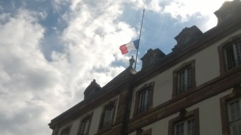 Strasbourg rend hommage aux victimes d'Istanbul