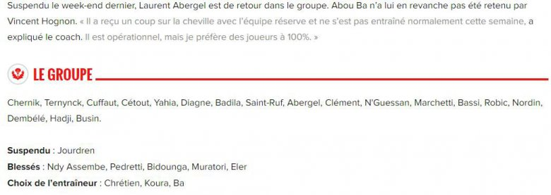 Le groupe de Nancy (source asnl.net) / © asnl.net