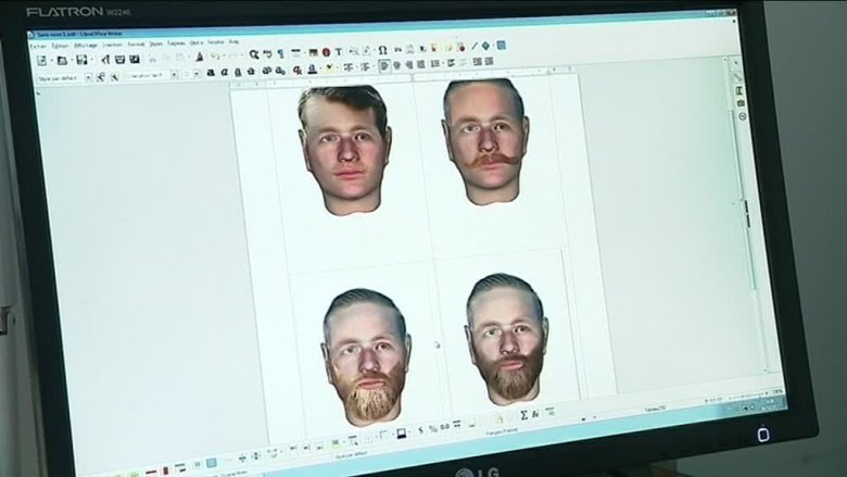 les quatre visages possibles du soldat Claude Fournier / © France 2
